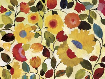 Siena Garden Poster von Kim Parker
