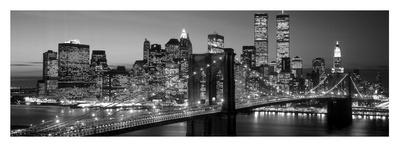 Brooklyn Bridge to Manhattan Posters by Richard Berenholtz