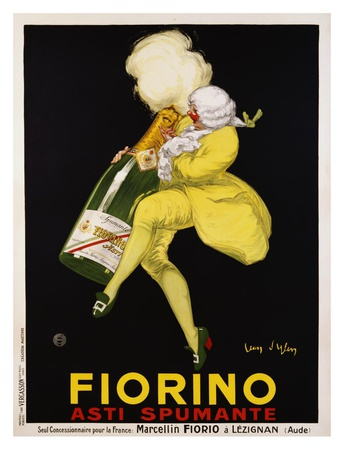 Fiorino Asti Spumante, 1922 Posters by Jean D' Ylen