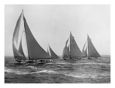 Sloops at Sail, 1915 Posters by Edwin Levick