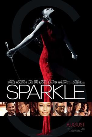 Sparkle movie poster with Jordin Sparks