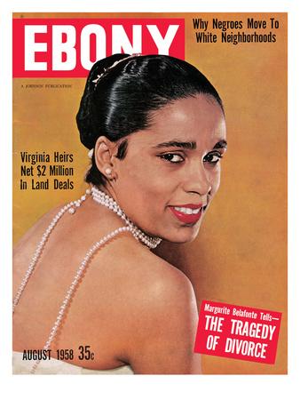Ebony August 1958 Photographic Print by G. Marshall Wilson