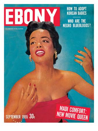 Ebony September 1955 Photographic Print by Howard Morehead