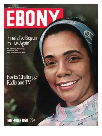 Ebony November 1970 Photographic Print by Charles Sanders
