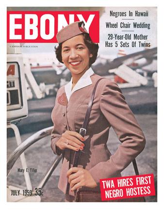 Ebony July 1959 Photographic Print by Moneta Sleet