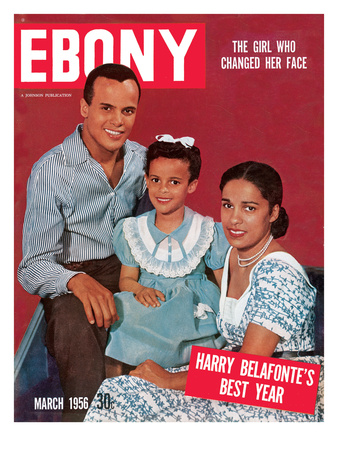 Ebony March 1956 Photographic Print by Bertrand Miles