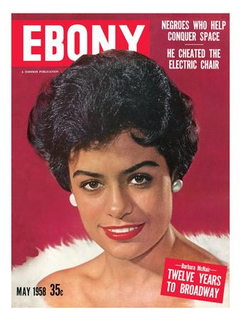 Ebony May 1958 Photographic Print by Moneta Sleet
