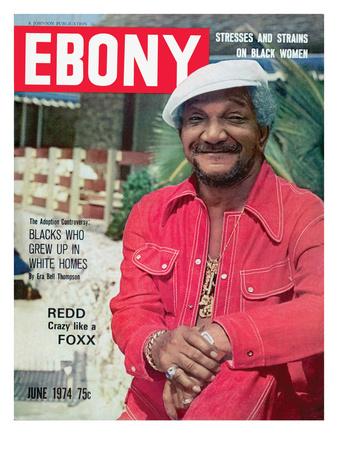 Ebony June 1974 Photographic Print by Moneta Sleet