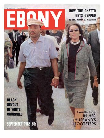 Ebony September 1968 Photographic Print by Moneta Sleet