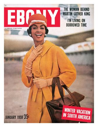 Ebony January 1959 Photographic Print by Moneta Sleet