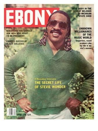Ebony April 1980 Photographic Print by Moneta Sleet