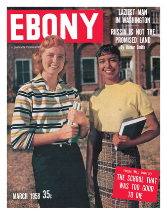 Ebony March 1958 Photographic Print by Moneta Sleet