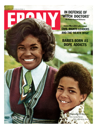 Ebony May 1973 Photographic Print by Ted Williams