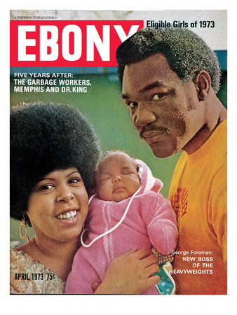 Ebony April 1973 Photographic Print by Ted Williams