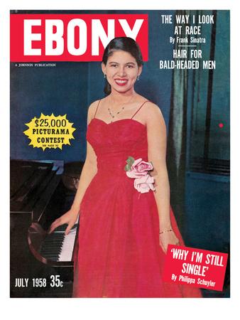 Ebony July 1958 Photographic Print by G. Marshall Wilson