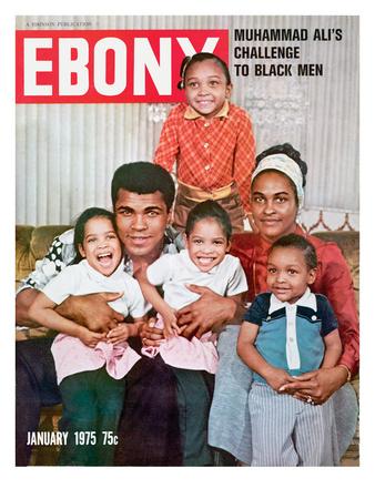 Ebony January 1975 Photographic Print by Isaac Sutton