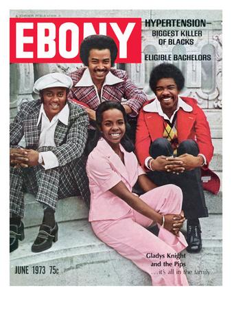 Ebony June 1973 Photographic Print by Moneta Sleet