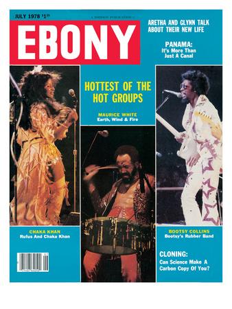 Ebony July 1978 Photographic Print by Moneta Sleet