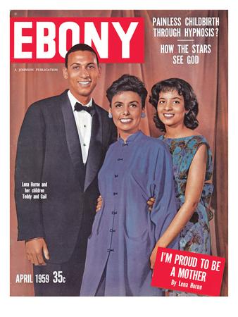 Ebony April 1959 Photographic Print by Moneta Sleet