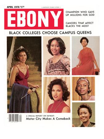 Ebony April 1978 Photographic Print by EBONY Staff