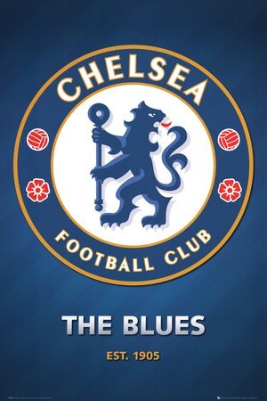 Chelsea FC Club Crest Posters