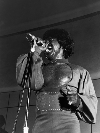 James Brown,1974 Nation-Wide Summer Revue Photographic Print by Norman Hunter