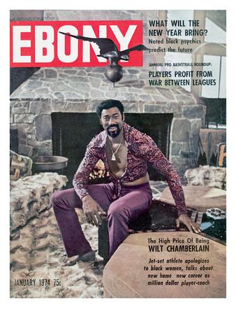 Ebony January 1974 Photographic Print by Moneta Sleet