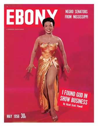 Ebony May 1956 Photographic Print by Moneta Sleet