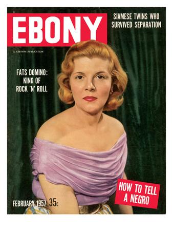 Ebony February 1957 Photographic Print by Moneta Sleet