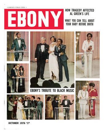 Ebony October 1976 Photographic Print by G. Marshall Wilson