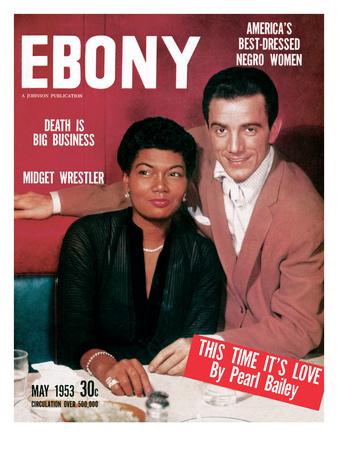 Ebony May 1953 Photographic Print by David W. Jackson