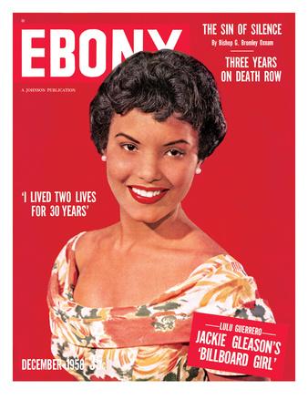Ebony December 1958 Photographic Print by Moneta Sleet