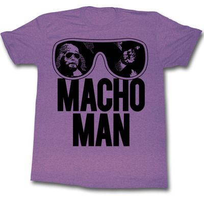 Macho Man - Ooold School Tshirt
