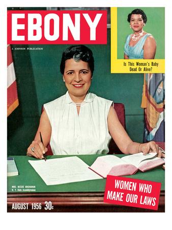 Ebony August 1956 Photographic Print by Moneta Sleet