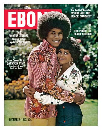 Ebony December 1973 Photographic Print by Moneta Sleet