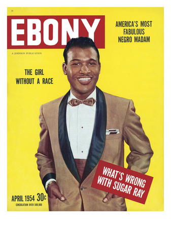 Ebony April 1954 Photographic Print by Bertrand Miles
