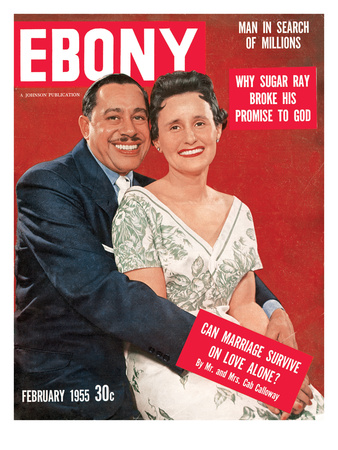 Ebony February 1955 Photographic Print by Isaac Sutton