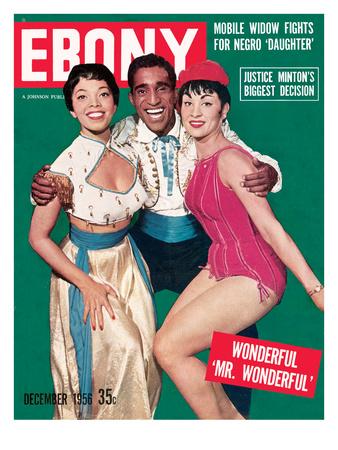 Ebony December 1956 Photographic Print by Moneta Sleet