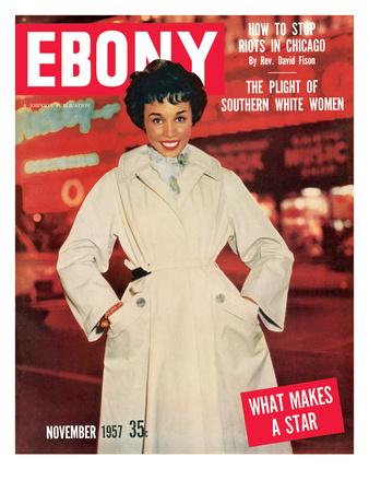 Ebony November 1957 Photographic Print by G. Marshall Wilson