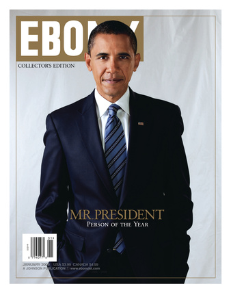 Ebony January 2009 Photographic Print by Dudley Brooks