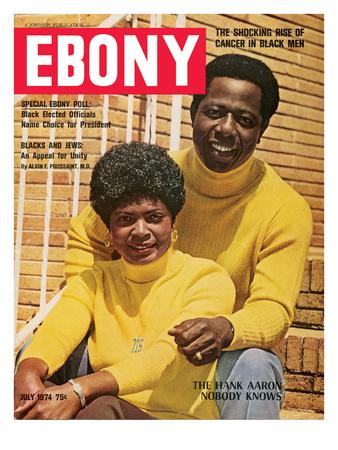 Ebony July 1974 Photographic Print by Moneta Sleet