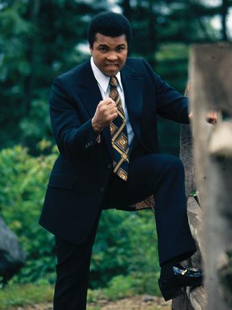 Muhammad Ali, Training Camp, July 1974 Photographic Print by Leroy Patton