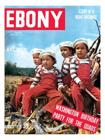 Ebony August 1950 Photographic Print by David W. Jackson