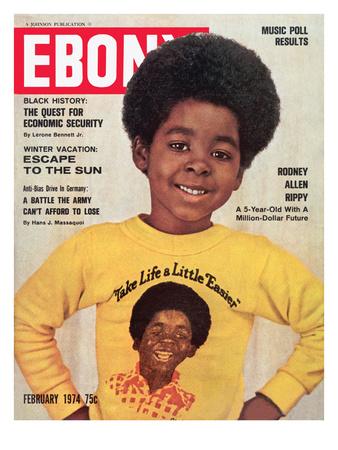 Ebony February 1974 Photographic Print by Moneta Sleet