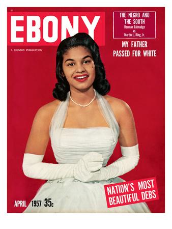 Ebony April 1957 Photographic Print by Moneta Sleet
