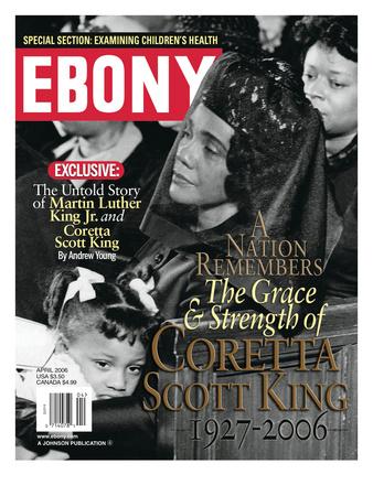Ebony April 2006 Photographic Print by Moneta Sleet