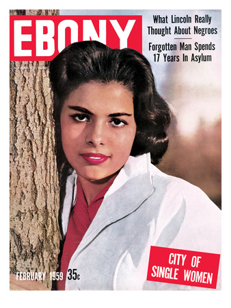 Ebony February 1959 Photographic Print by Ellsworth Davis