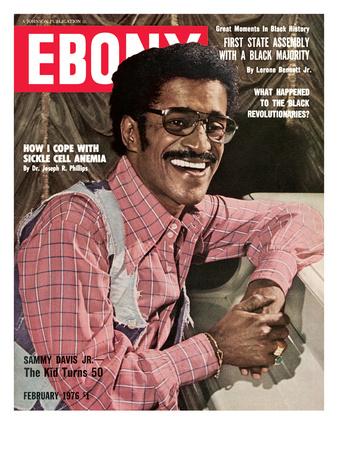 Ebony February 1976 Photographic Print by G. Marshall Wilson