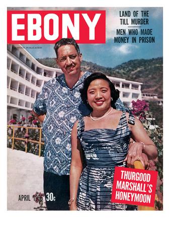 Ebony April 1956 Photographic Print by David W. Jackson