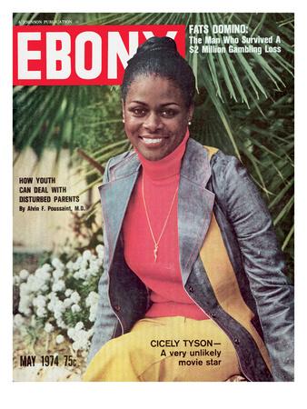 Ebony May 1974 Photographic Print by Moneta Sleet